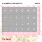 XM2052 Klebeschablonen 4