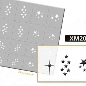 XM2055 Klebeschablonen
