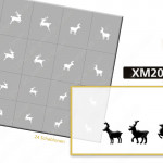 XM2062 Klebeschablonen 4