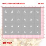 XM2062 Klebeschablonen 2