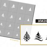 XM2070 Klebeschablonen 4