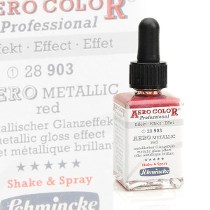 AeroColor Effekt Metallic Red