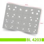 BL4203 Klebeschablonen 5