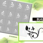 BL4210 Klebeschablonen 4