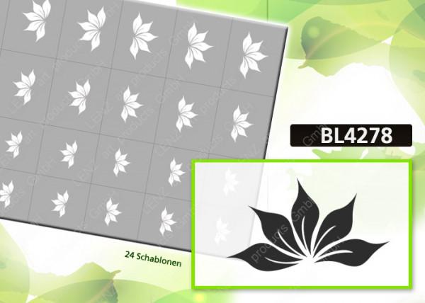 BL4278 Klebeschablonen