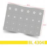 BL4304 Klebeschablonen 3