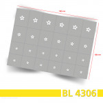 BL4306 Klebeschablonen 3