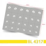BL4317 Klebeschablonen 3
