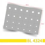 BL4324 Klebeschablonen 3
