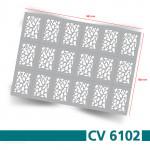 CV6102 Klebeschablonen 2