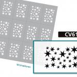 CV6105 Klebeschablonen 4