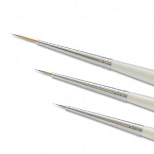 Pinselset, 3-teilig, feine Spitzen für Nail Art