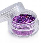 Holoblättchen Hellviolett, irisierend-metallic