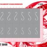 LT5808 Klebeschablonen XL 3