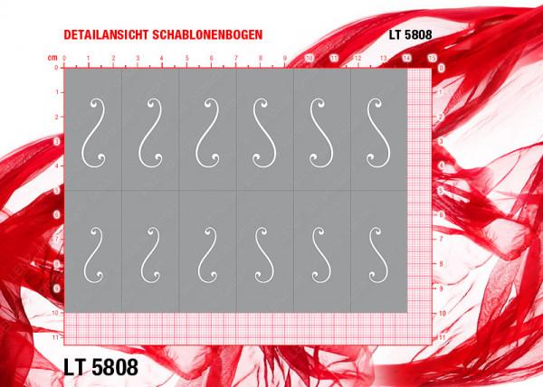 LT5808 Klebeschablonen XL