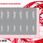 LT5836 Klebeschablonen XL 4