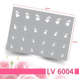 LV6004 Klebeschablonen