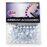 Mischkugeln aus Glas für Airbrushfarben, 6 mm