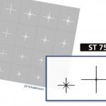 ST7504 Klebeschablonen 3