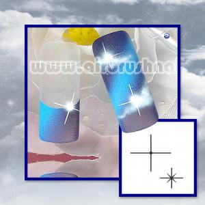 ST7504 Klebeschablonen