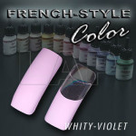 FrenchStyleColor 'Violet' 3