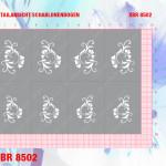 XBR8502 Klebeschablonen 5