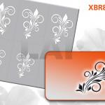 XBR8505 Klebeschablonen 4