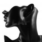 Deko-Büstenkopf (schwarz) 3