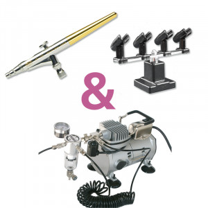 Mini-Airbrush Set