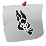 Klebeschablonen Ostern OST001