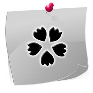 24 Nailart Airbrush Klebeschablonen Blumen BL4353, selbstklebend, Airbrushnailart
