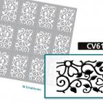 CV6125 Nailartschablone