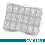 CV6125 Schablonen Bogen