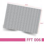Nailart Airbrush Schablone, Effektlinie, selbstklebend, FFT006 – Bogenansicht