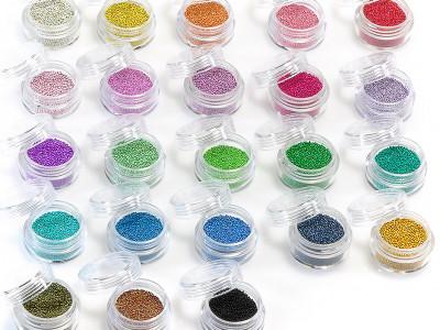 Minikügelchen in vielen Farben - Übersicht