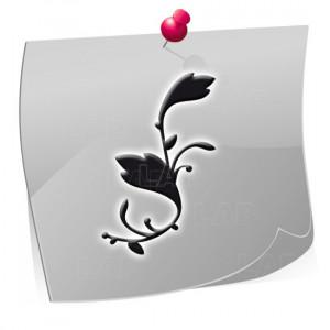 Nailart Airbrush Klebeschablonen BL4212