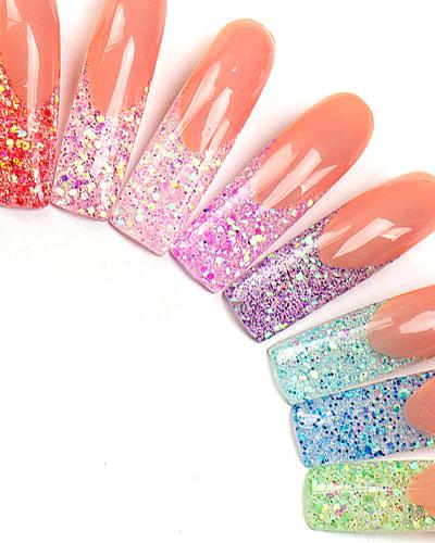 Glitter, Strass und weitere Extras und Accessoires für Nails & Nailart