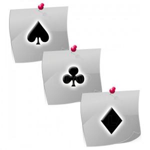 Spielkarten PL05 Klebeschablonen