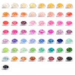 Shelly Perlmuttsplitter Farben