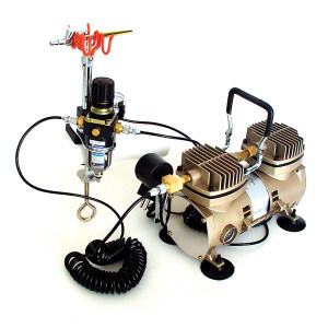 Airbrush Kompressor SATURN40