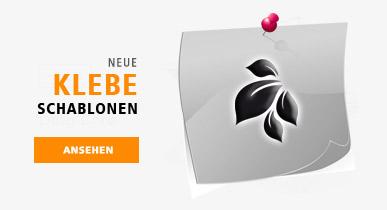 Nailart-Airbrush Klebeschablonen