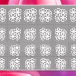 Airbrush Schablone Bogenansicht Outline OTL8105