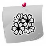 Airbrush Schablone Outline OTL8105